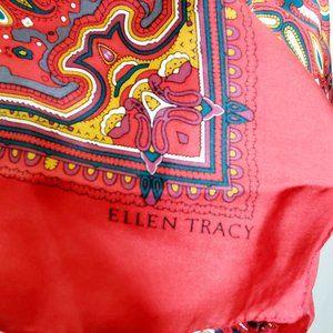 Ellen Tracy Vibrant Print Scarf
